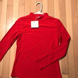 ❤️Red long sleeve turtle neck